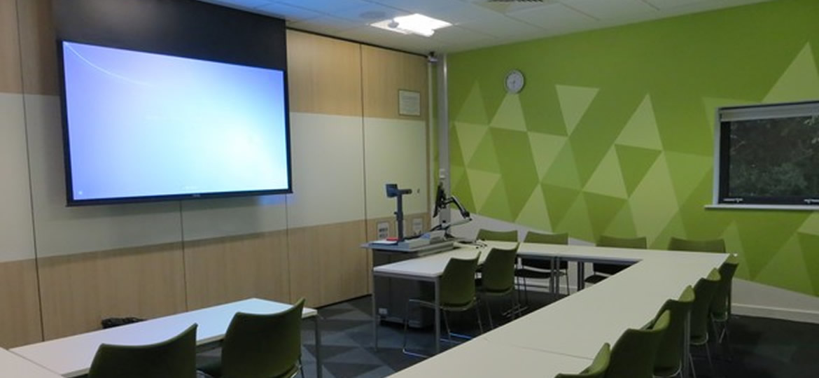 Classroom Peter Chalk - Exeter University