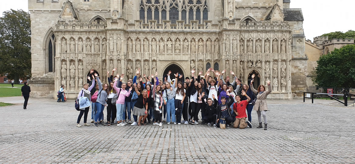 Visiting Exeter Cathedral