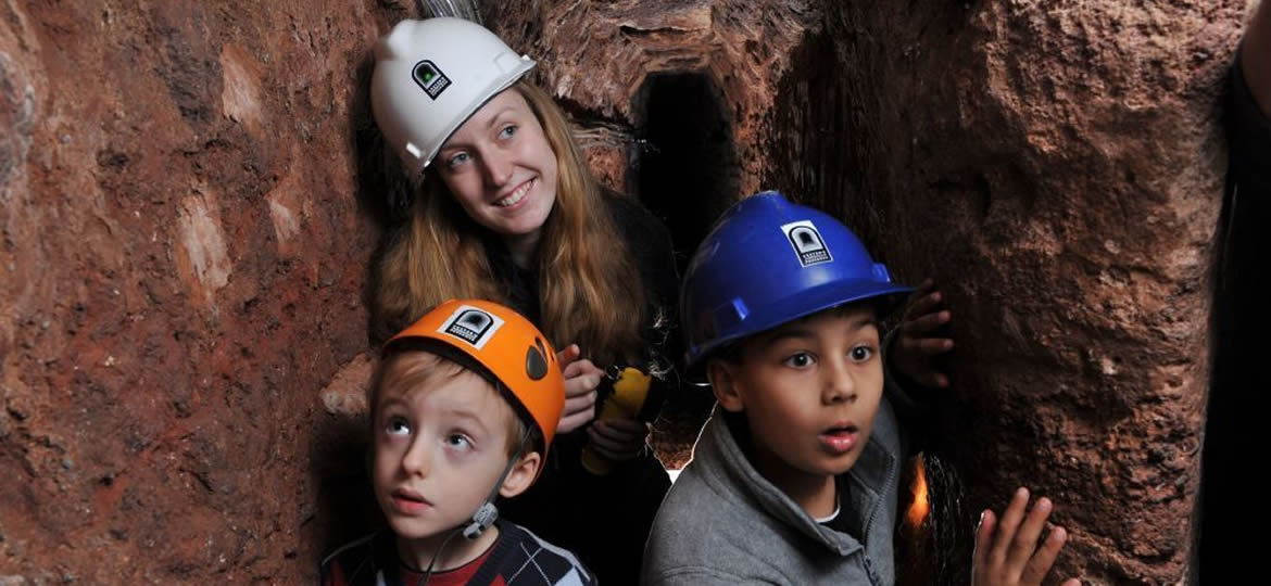 Caving in Exeter