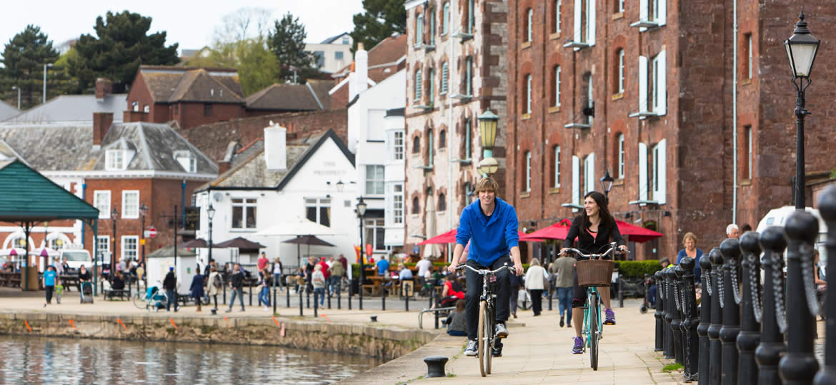 Exeter Quay Cycling