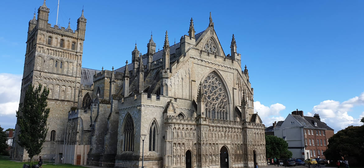 Exeter Cathedral Entra
